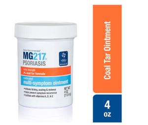 MG217 Psoriasis Extra Strength 2% Coal Tar Medicated Ointment - EXP: 10/2022