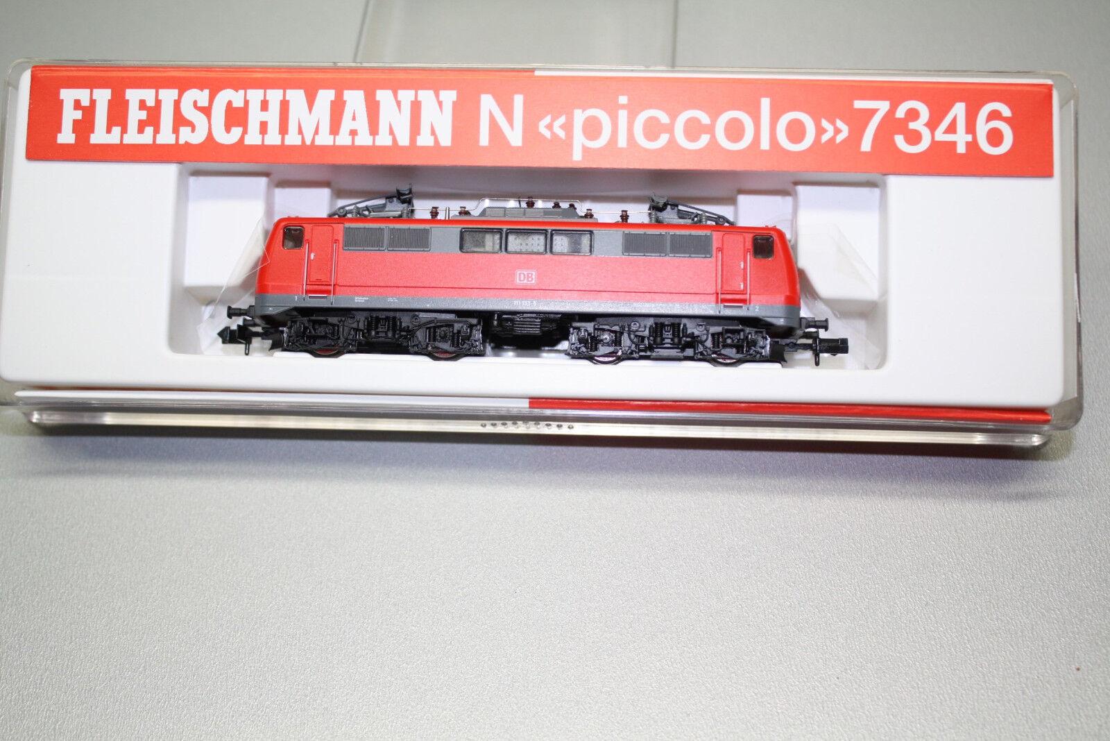 Fleischmann 7346 elok serie siano 111 133-5 DB Spur N OVP