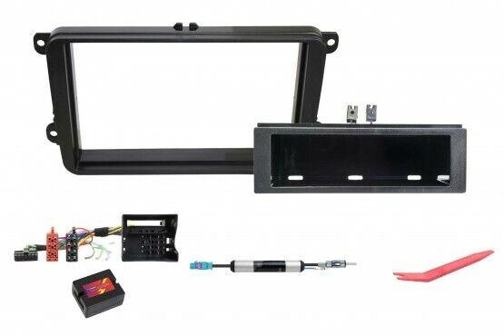 VW Polo 5 6R Car Radio Installation Kit Panel Radio Adapter Antenna Iso