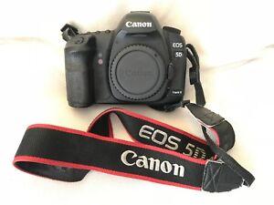 Camara-SLR-Canon-Eos-5D-Mark-II-21-1MP-Digital-con-Accesorios-Negro-Cuerpo-unicamente