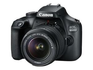 Fotocamera reflex Canon Eos 4000d - fotocamera digitale lente ef-s 18-55mm dc