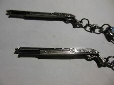 Tactical  Shotgun  With Pistol Grip-(( KEYCHAIN )) **Lot-of-2** Free  Shipping
