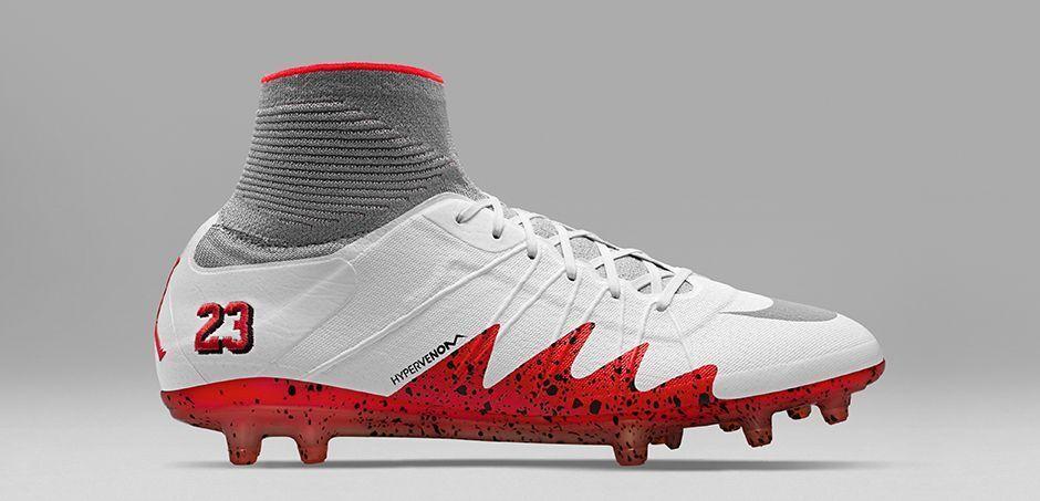 Nike hypervenom phantom ii 2 njr fg neymar x jordan white nuove dimensioni di 12 820117-106
