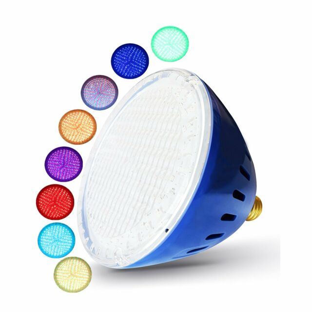LAMPAOUS Color Changing Swimming Pool Lights LED PAR56 Light-E26 ...