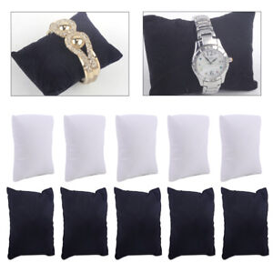 5pcs-Watch-Bracelet-Anklet-Jewelry-Display-Pillow-Cushion-Holder-Showcase