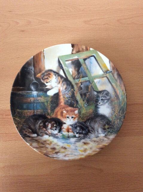 Seltmann Weiden, Katzen Wandteller