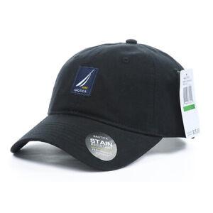 NAUTICA Men's Hat Cap Woman Unisex baseball Golf Ball Sport Black Price Tag $25