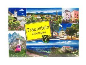 Traunstein-Chiemgau-Foto-Magnet-Germany-8-cm-Reise-Souvenir
