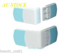 4-PACK Baby Toddler Child Door Drawer Cupboard Cabinet Corner Lock with 3M Tapes