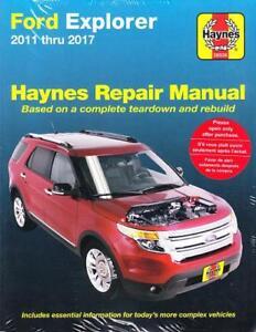 2011 2017 ford explorer haynes repair service workshop shop manual rh ebay com Ford Explorer Manual Transmission 2012 ford explorer service manual