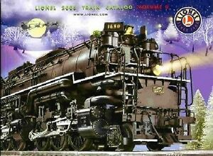 2005 LIONELTRAINS VOLUME 2 CONSUMER CATALOG MINT