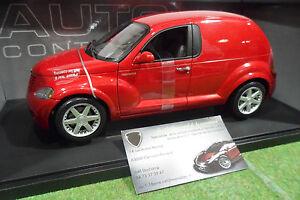 CHRYSLER-PANEL-CRUISER-rouge-au-1-18-AUTOart-71532-voiture-miniature-collection