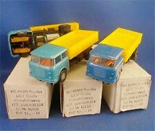 1960-70s PREFO Dresden RARE Skoda Truck Slot Car PAIR