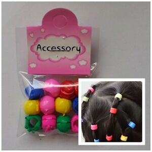 Strange Kids Girls Character Hair Tie Clips Grips Beads Tail Style Hairstyles For Men Maxibearus