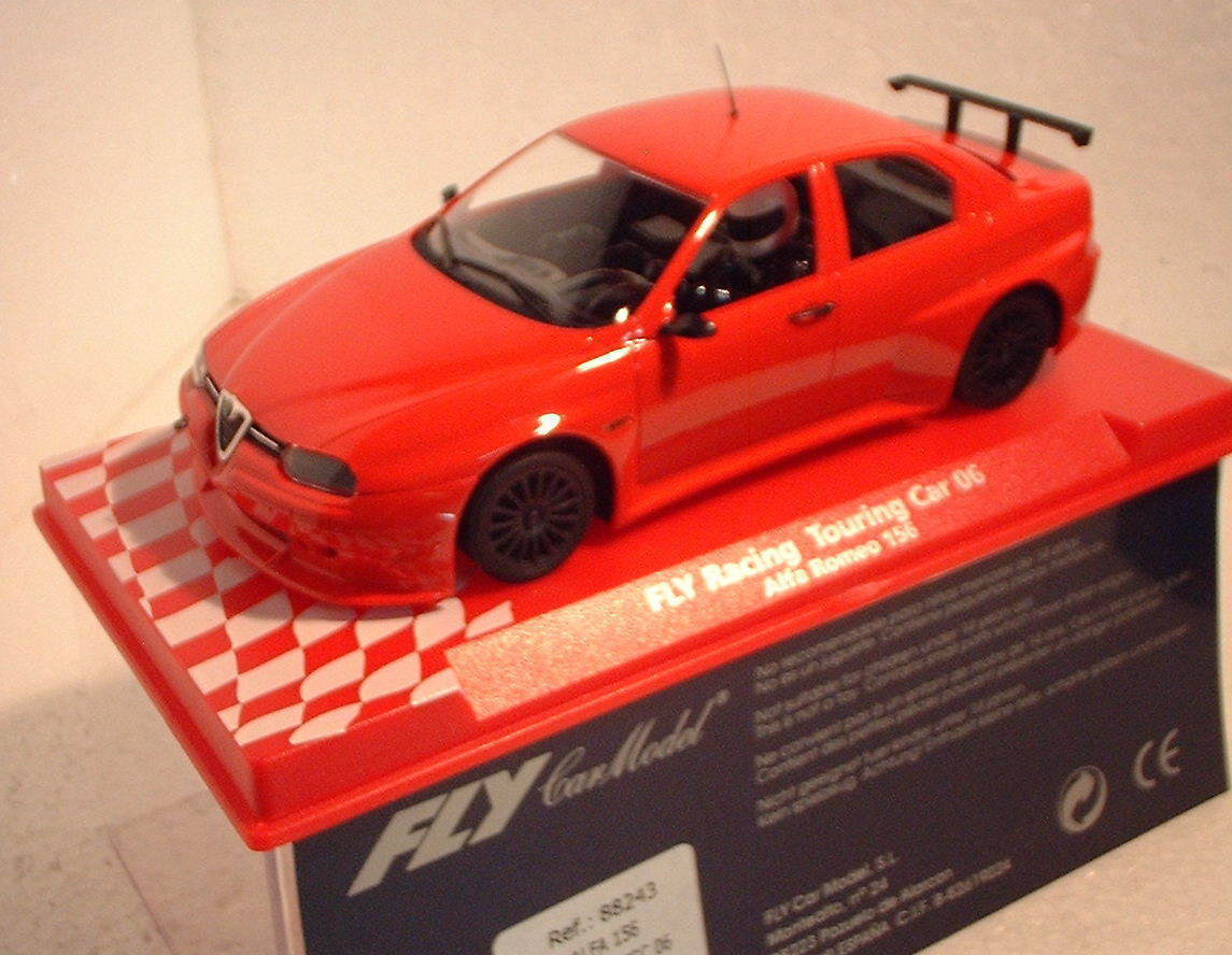 QQ 88243 Fly Alfa 156 Racing Touring auto Etcc 06