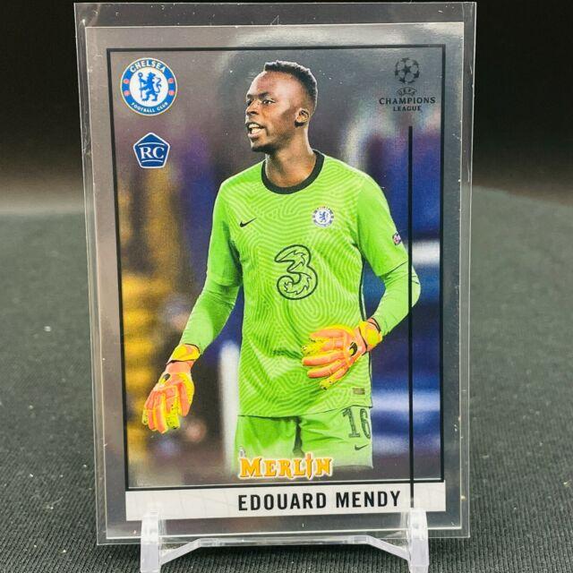2020-21 Topps Chrome UEFA Merlin Edouard Mendy RC BASE