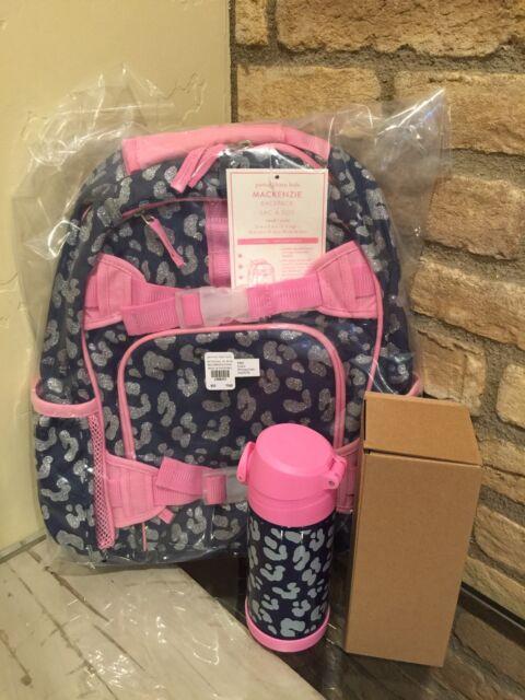 Pottery Barn Kids Pink Glitter Small Mackenzie Backpack