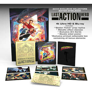 Last Action Hero 4K UHD Exclusive Collector's Edition UK Steelbook PRE Order!!!