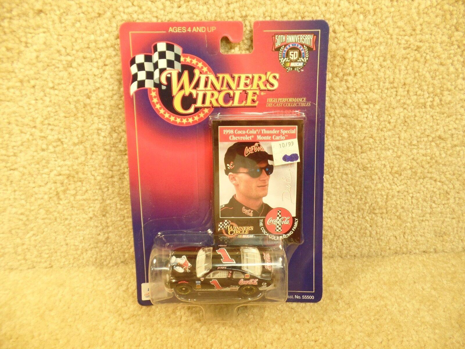 New 1998 Winners Circle 1 64 Diecast NASCAR Dale Earnhardt Jr Coke Polar Bear