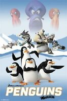 2014 Dreamworks Penguins Of Madagascar Movie Poster 22x34 Free Shipping
