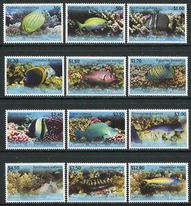 Penrhyn 2013 Fische Fishes Poissons Pesci Freimarken II 718-729 MNH