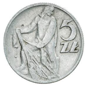 Polonia 5 Zlotych 1958 Rare Uli5x0ch-07234849-711872077