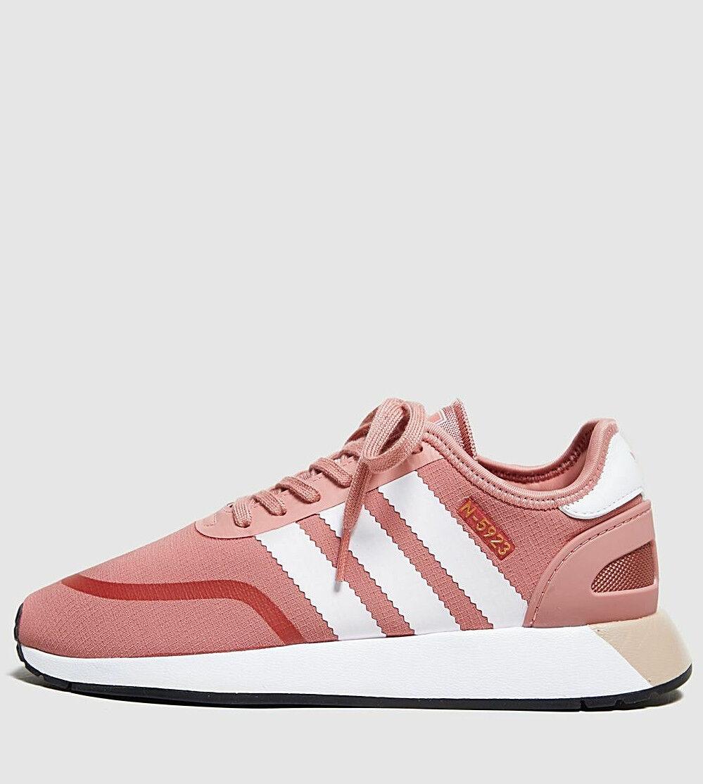 official photos c6756 e82d1 Adidas Originals Originals Originals N-5923 Women s ® ( Sizes UK 4   5 )  Ash Pink White NEW 8c37e1