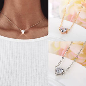 1pcs-Gold-Silver-Plated-Alloy-Women-Crystal-Rhinestone-Chain-Pendant-Necklaces