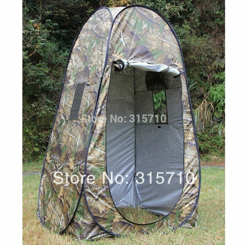 Portable Privacy Shower Toilet Camping Pop Up Tent Camouflage/UV function 2020
