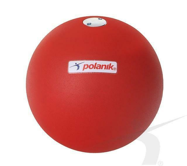 Polanik [PAINTED] Steel (TRAINING) Shot Puts Weight  2.72 6 pounds 84mm
