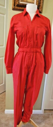 Vintage 80's Red SAINT GERMAIN Jumpsuit