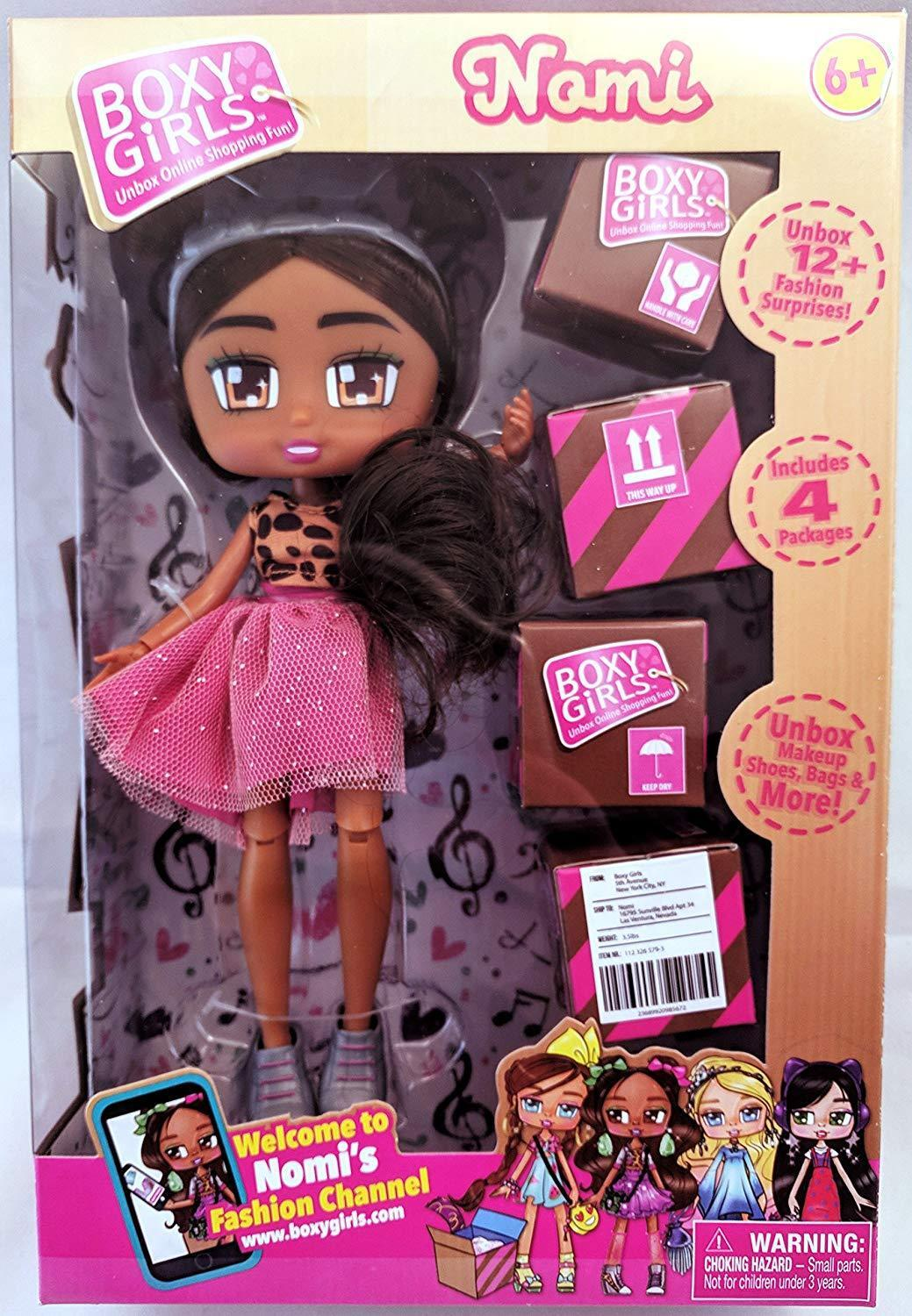 BOXY GIRLS FASHION PACK INCLUDES 6 PACKAGES  NEW IN BOX