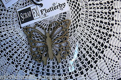 CHIPBOARD Die Cuts BUTTERFLY Flutterfly x 7 Styles Scrap FX- MultiList