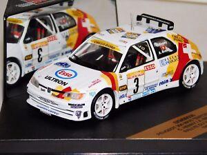 PEUGEOT 306 MAXI SWITZERLAND #3 RALLY VALAIS 1998 C. HENNY SKID ...