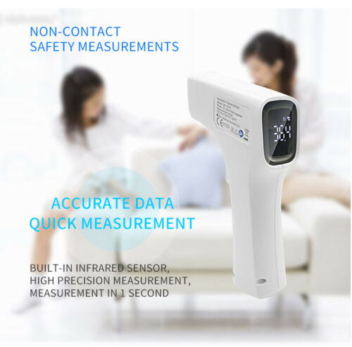 Infrared Thermometer Forehead LED Digital Non-Contact Adult Baby Body Fever FDA