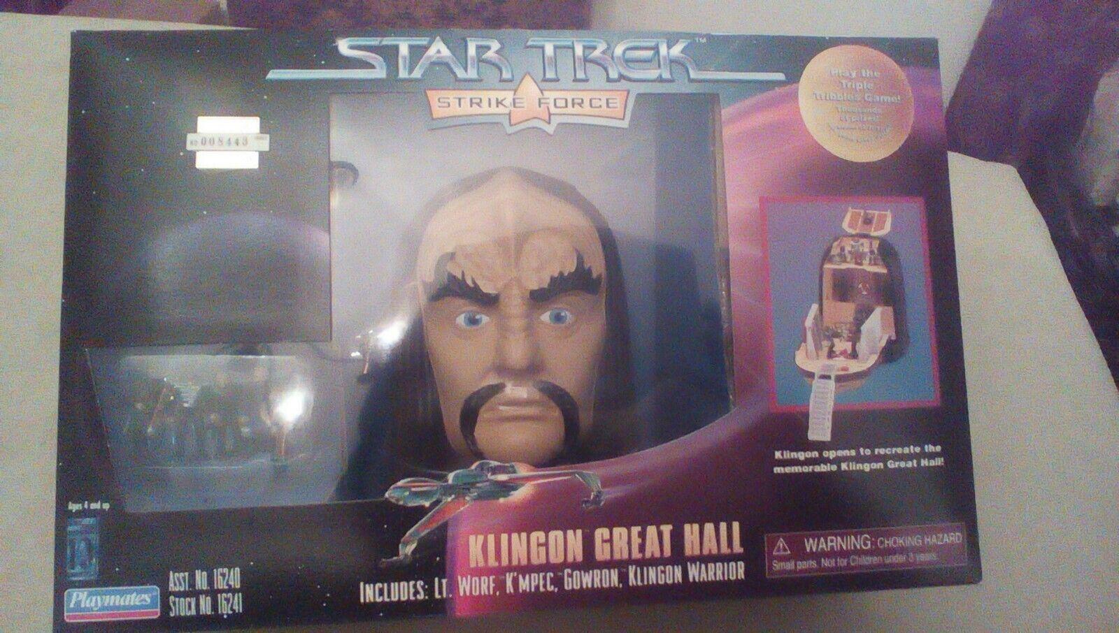 Playmates Toys Klingon Great Hall Action Figure For Sale Online Ebay