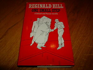 REGINALD-HILL-ONE-SMALL-STEP-SIGNED-1ST-HB-1990-VG-NF-COLLINS-CRIME-CLUB-V-RARE