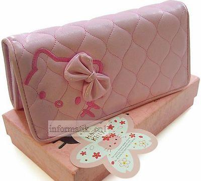 Hello Kitty Geldbörse wallet Brieftasche pink 19x10cm #W34