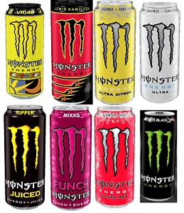 Lewis Hamilton Monster Energy Drink Flavour