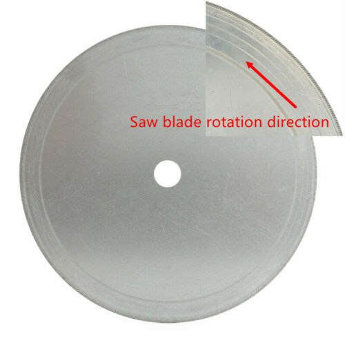 "5Pcs 6/"" inch Super-Thin Arbor Hole 1//2/"" Diamond Lapidary Saw Blade Cutting Disc"