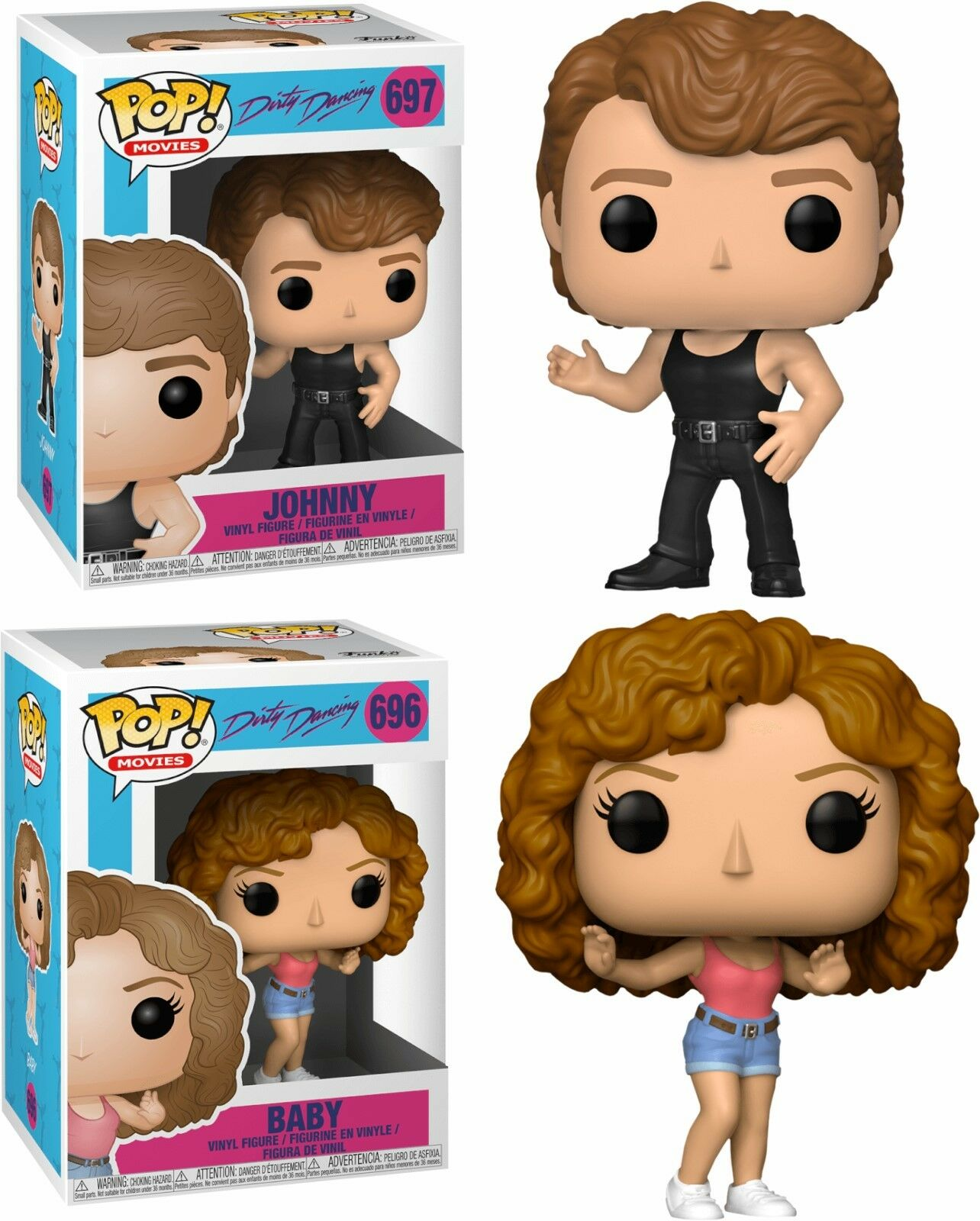 Funko pop dirty dancing - johnny und baby