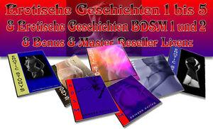Erotische Geschichten 1 - 5 plus B-D-S-M 1 + 2 plus Bonus - Master Reseller