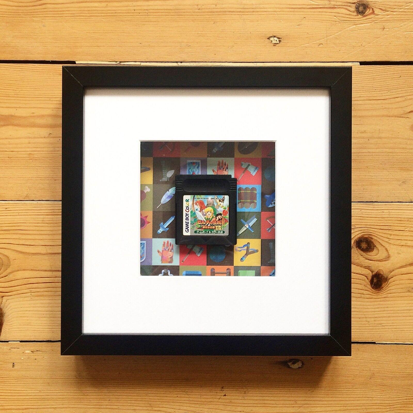 Game Boy/Couleur Jeu Panier Panier Jeu Wall Art-Anniversaire Fête Des Pères Cadeau 4b5491