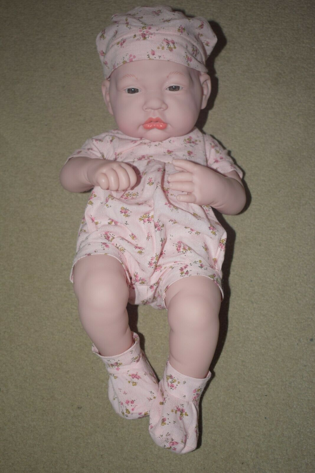 Realistic Baby Doll reborn in clothes