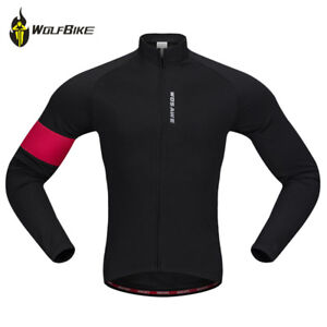 Thermal-Cycling-Jacket-bicycle-sports-coat-mtb-bike-windproof-Long-sleeve-jacket
