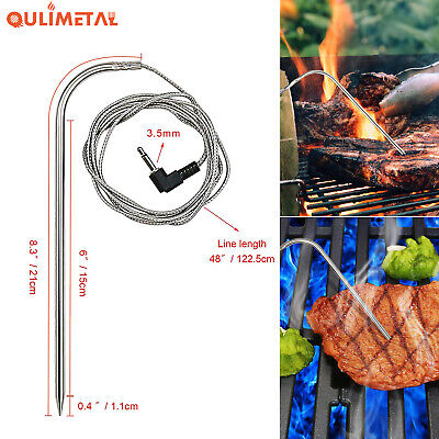 Replacement Meat Probe Temperature Probes BBQ For Traeger Pit Boss Pellet