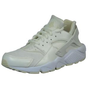 Nike Air Huarache Run Womens Shoes 634835 115 Sail White Running Leather Vntg DS