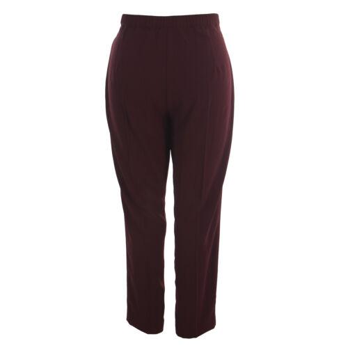 Marina Haute Neuf Rombo Rinaldi Avec Taille Pantalon Femmes Bordeaux Étiquettes vHFUxwBv