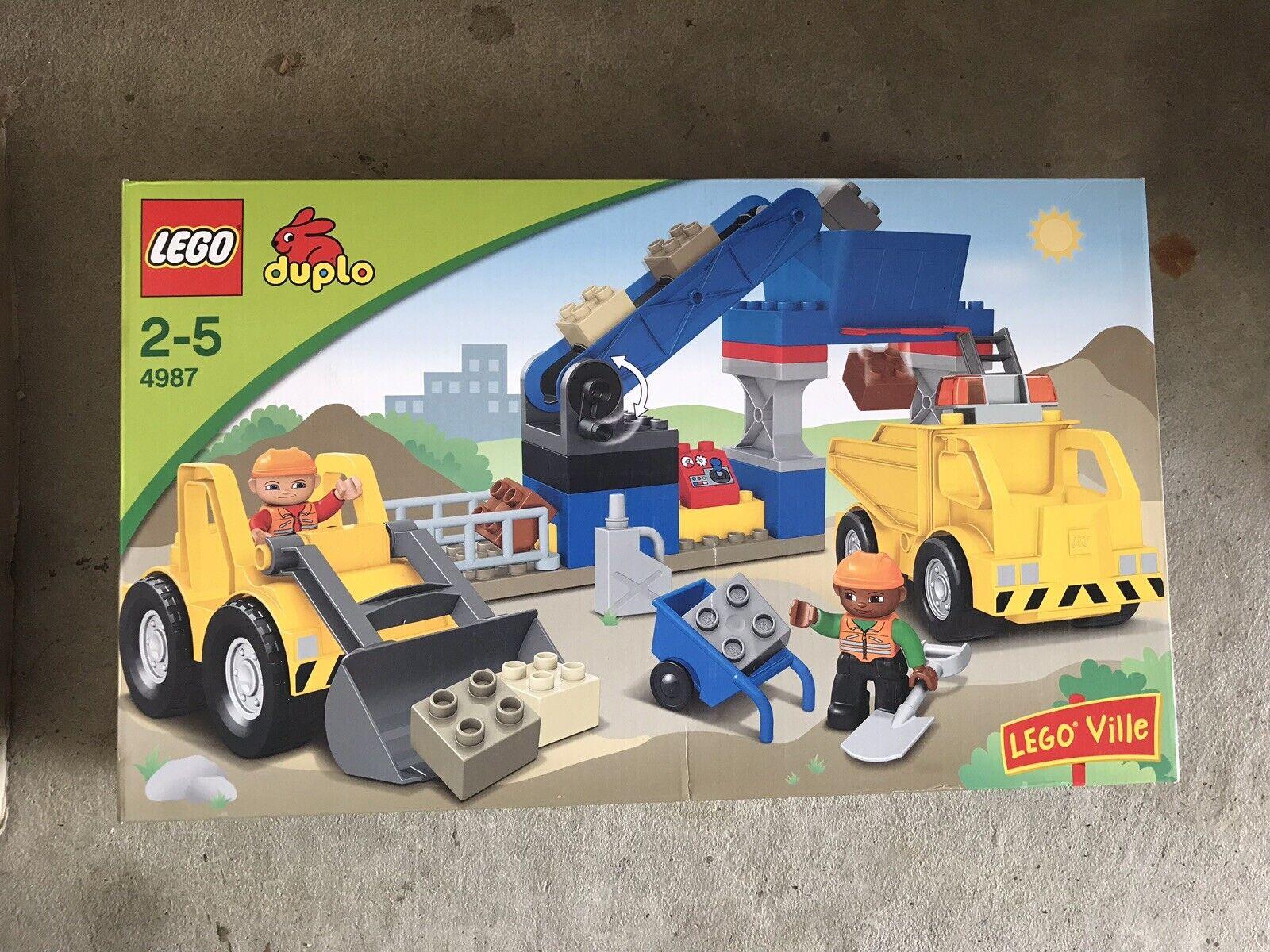 Lego Duplo Ville 4987 Gravel Pit. Factory Sealed  NIB  ti aspetto
