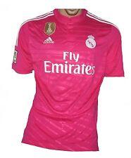 Real Madrid Trikot 2014/15 Pink Adidas L Shirt Jersey Maillot Camiseta Maglia